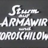 Sturm auf Armawir und Woroschilowsk
